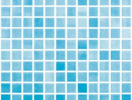 GLASS TILE 501 2.5CMX2.5 POOL
